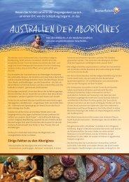 AustrAlien der ABOriGines - Gelas-Reisen