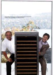 Rolf Jaeger, Geschäftsinhaber der Klimawatt AG und Markus Bachl ...