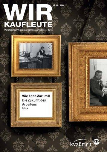 KAUFLEUTE KAUFLEUTE - Kaufmännische Verband Zürich