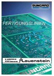 Maschinen & Geräte für die Prototypen-Herstellung Bungard-Linien