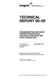 TECHNICAL REPORT 90-09 - Nagra