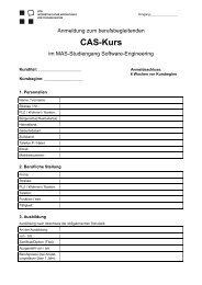 Anmeldeformular CAS_SWE - NTB