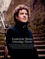 PORTRÄT des Dirigenten Robin Ticciati - Opernhaus Zürich