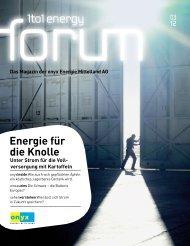 Energie für die Knolle - Onyx Energie Mittelland