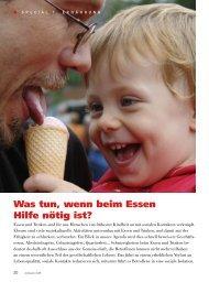 clinicum - Schlucken (PDF, 1.3 MB) - Schweizer Paraplegiker-Gruppe