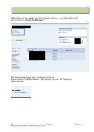 Passwortänderung im Portal