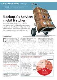 Backup als Service: mobil & sicher - KMU Ratgeber
