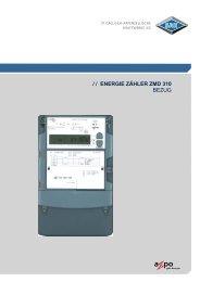 Energie Zähler ZMD 310 - SAK