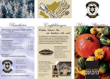 Flyer Nov-Febr.2011 - Sternen Boswil