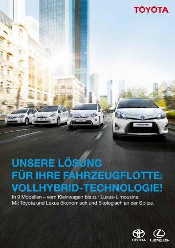 Flottenbroschüre - Suedbahngarage.ch