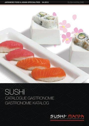 Katalog Sushi: gastronomie - Sushimania