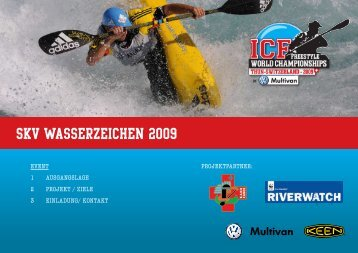 SKV Wasserzeichen 2009 - Schweizerischer Kanu-Verband
