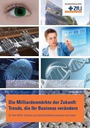 Die Milliardenmärkte der Zukunft - ZFU International Business School