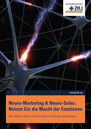 Neuro-Marketing & Neuro-Sales - ZFU International Business School