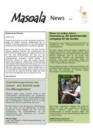 Masoala News de Nr. 41 [PDF, 902 KB] - Zoo Zürich