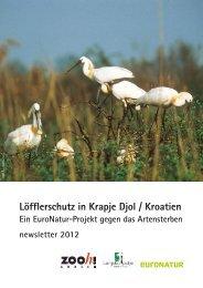 Löffler Newsletter 2012 - Zoo Zürich