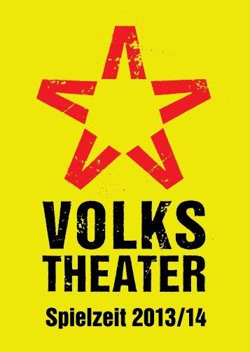 Saisonvorschau 2013/14 - Volkstheater