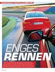 Audi S4 und BMW 335i Vergleichstest
