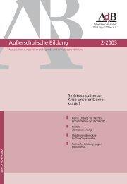 Nr. 2-2003 - AdB