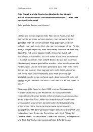 Rede zur Eröffnung der Ausstellung von Beatrice Vierneisel