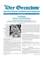 2. Oktober 2011 - Die Evangelisch-altreformierte Kirche in ...