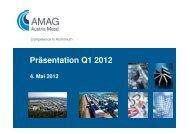 Präsentation Q1/2012 - Austria Metall AG