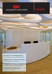 Transparenz im Medizinbereich Transparency in the medical field ...