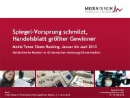 Spiegel - IQ media marketing