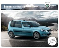 Sondermodell PLUS EDITION - Skoda