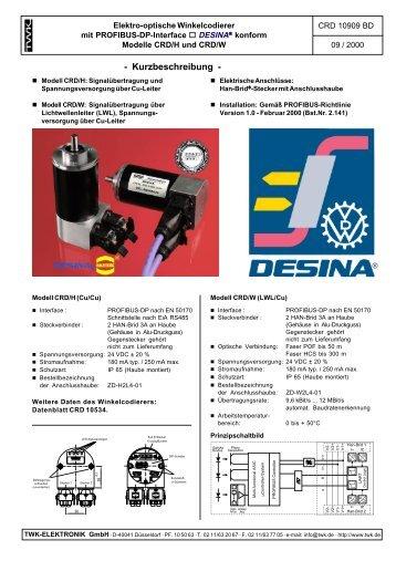 Kurzbeschreibung - TWK-ELEKTRONIK GmbH