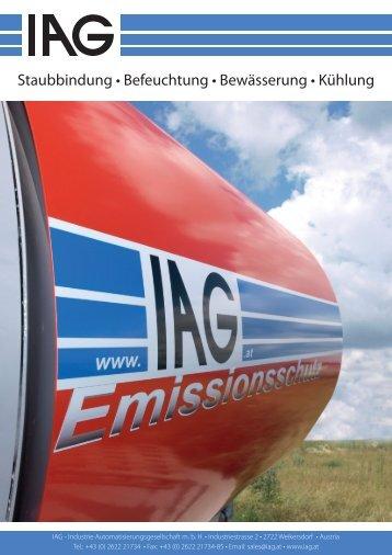 IAG Emissionsschutz - Snow+Promotion