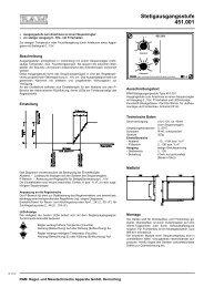 Stetigausgangsstufe 451.001 - ANDO Technik GmbH