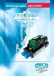 Stellungsregler ARCAPRO® - Arca-Regler GmbH