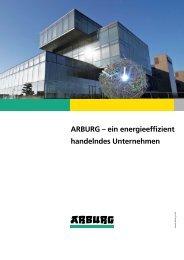 ARBURG – ein energieeffizient handelndes Unternehmen