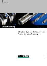 Plastifizierung - Arburg