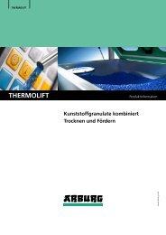 Produktinformation - THERMOLIFT 100-2 - Arburg