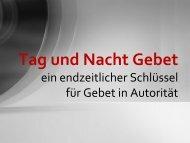 Lehre Tag und Nacht Gebetsseminar Mai 2013 - Arche Ehingen