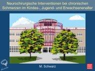 Neurochirurgische Prävention zerebraler und nervaler ... - ASbH
