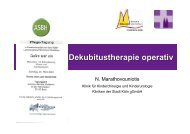 Dekubitustherapie operativ - ASbH