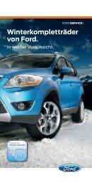 Winterkompletträder von Ford. - Autohaus Bolz