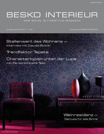 Besko Wohn- & Lifestyle Magazin 2010