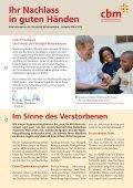 Nachlassabwicklung - Christoffel-Blindenmission - Page 2