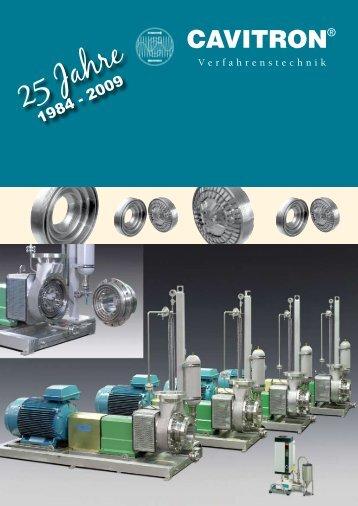 25 Jahre - CAVITRON GmbH