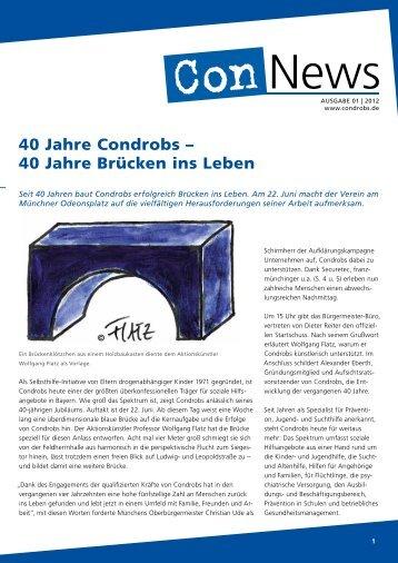 Ausgabe 1/2012 - Condrobs eV