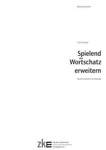 Spielend Wortschatz erweitern - Verlag ZKM