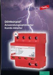 DEHNshield ® Anwendungsoptimierter Kombi-Ableiter [2.3 MB]