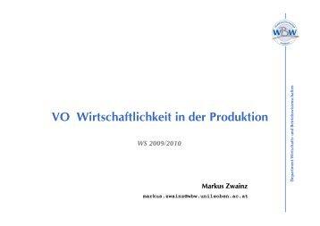 VO Wirt 09 A.pdf - Department Wirtschafts- und ...