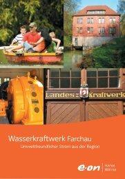 Wasserkraftwerk Farchau (PDF, 806.48 KB) - E.ON AG