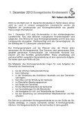 Gemeindebrief Februar 2013 - Evangelische Kirchengemeinde ... - Page 4