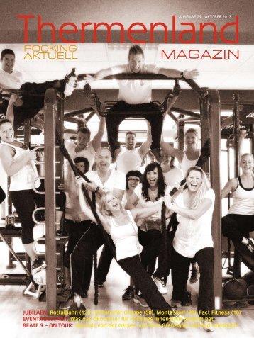 Thermenland Magazin Oktober 2013